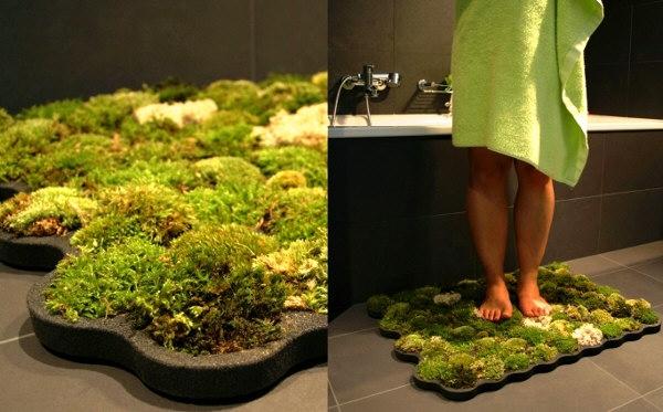 Необычный коврик в ванную