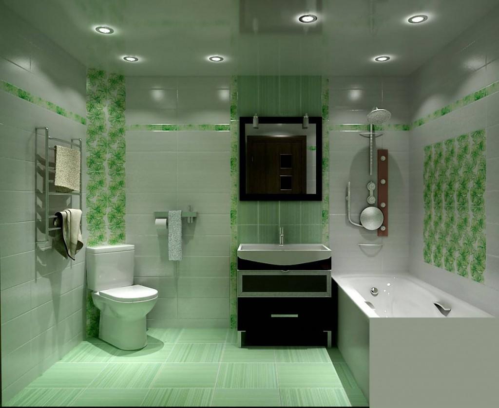 Оформление ванной комнаты с туалетом