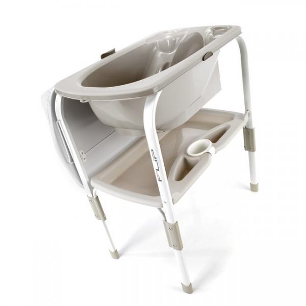 Пеленальный столик с ванночкой Flip