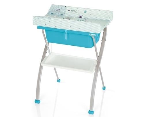 Пеленальный столик с ванночкой Lindo