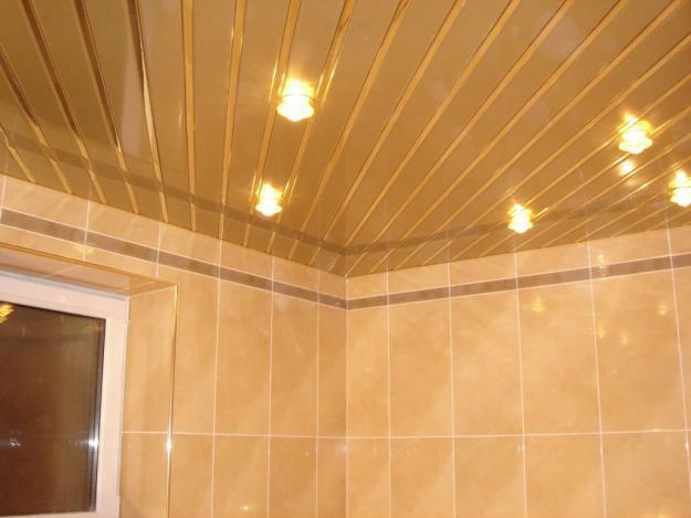 Потолок из плит