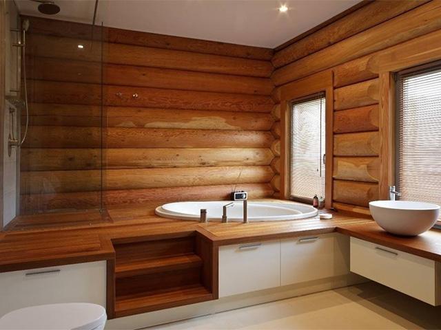 Пример интерьера в частном доме