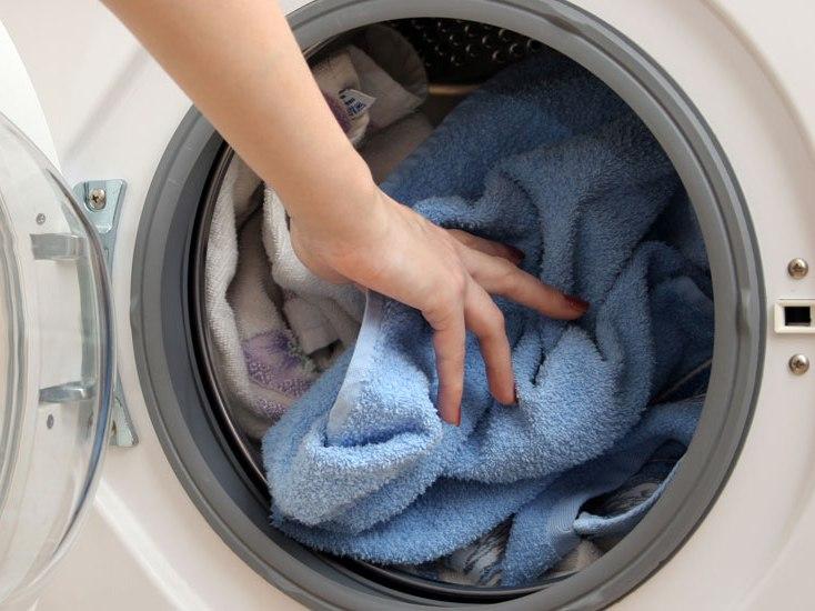 Распределяем белье стиральной машины