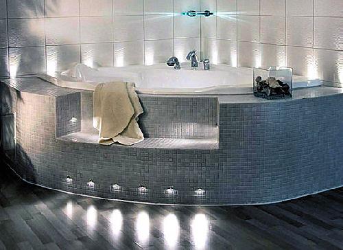 Светодиодные светильники для ванной