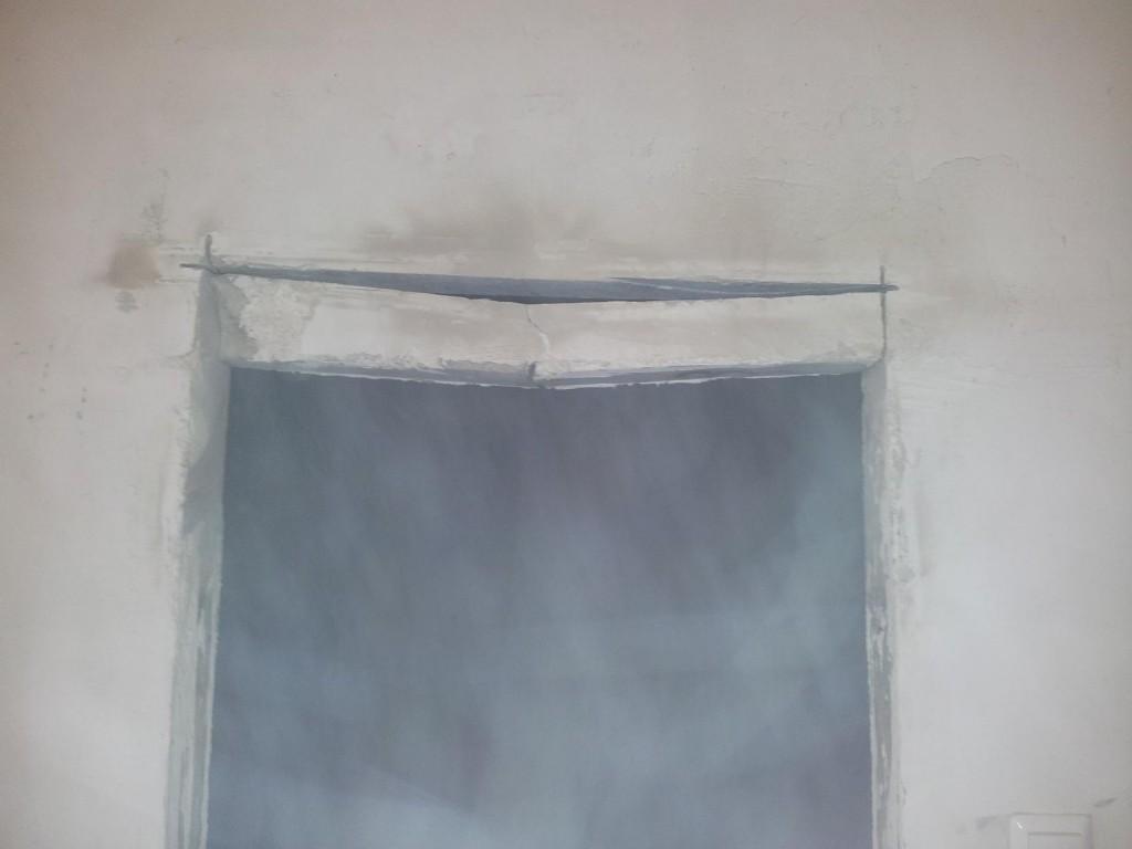 Увеличение дверного проема под двери в ванную