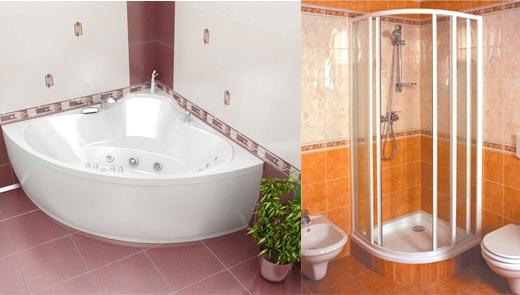 Ванная и душевая кабинка