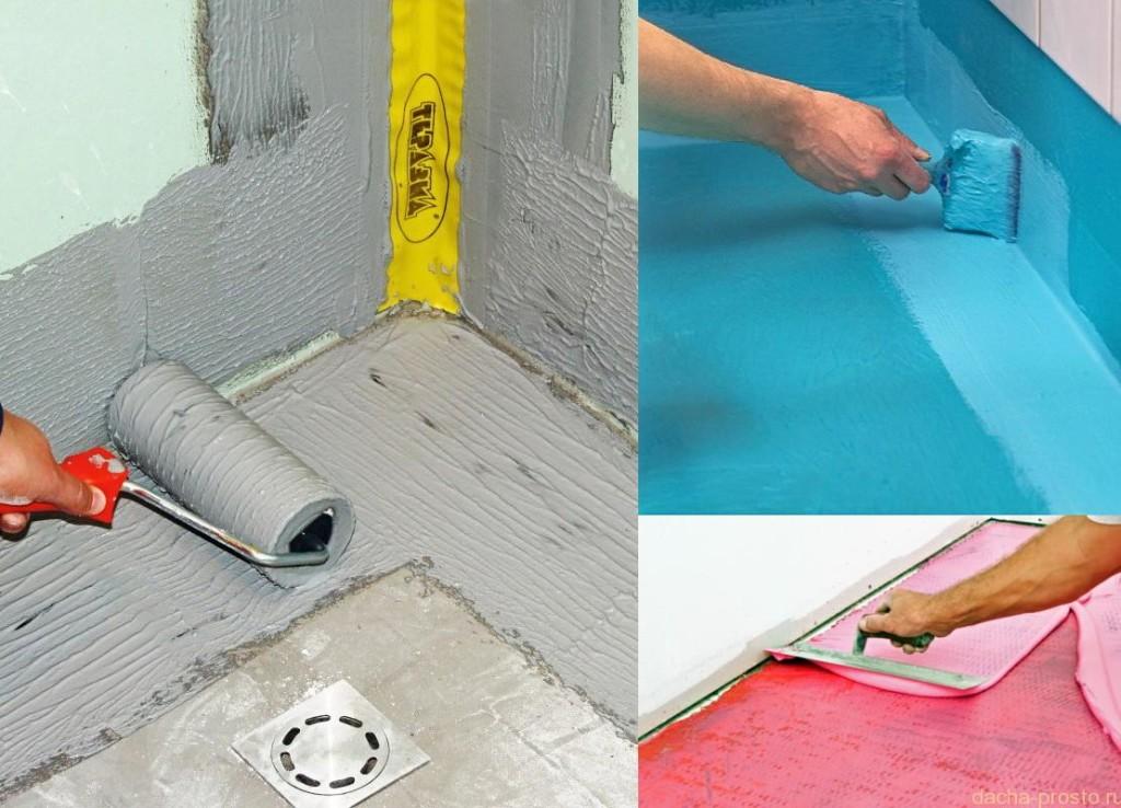 Как сделать правильно гидроизоляцию на стены