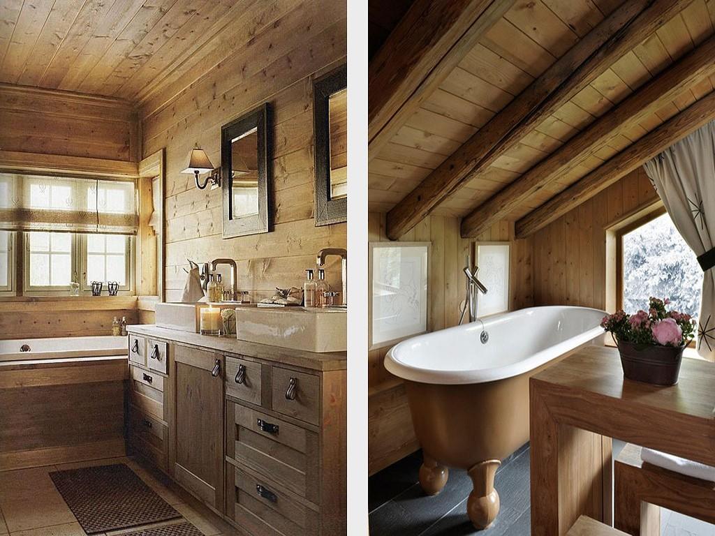 Выбираем стиль интерьера для ванной комнаты в частном доме