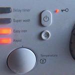 Ошибка стиральной машины