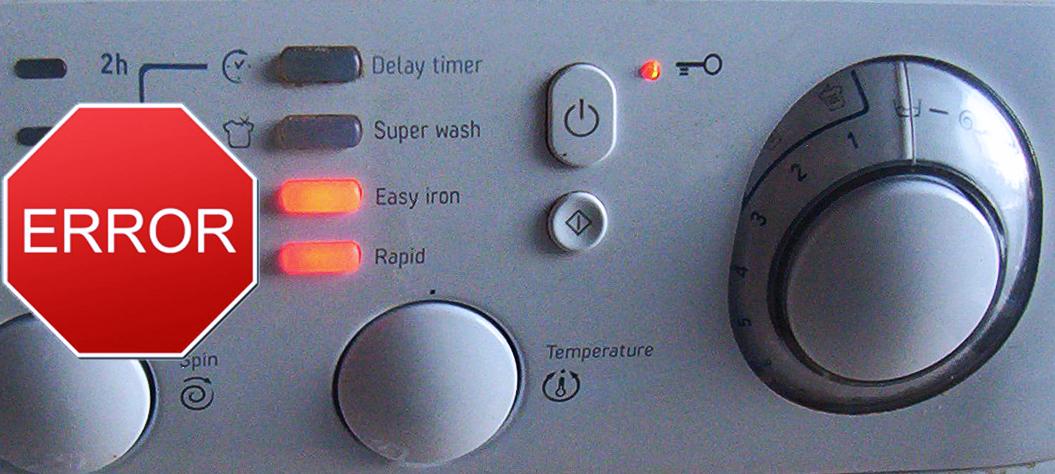 Коды ошибки стиральной машинки самсунг