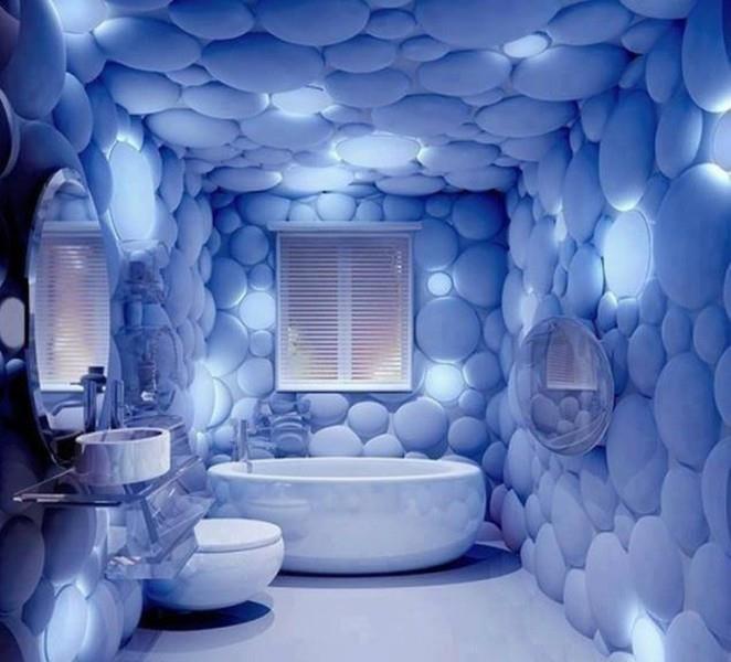 Плитка в ванную 3d