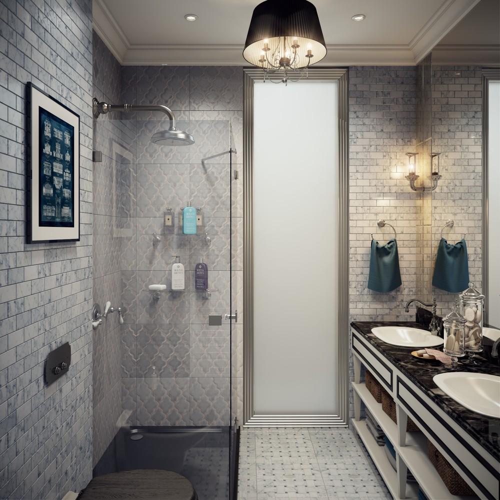 Ванная комната 6 кв м