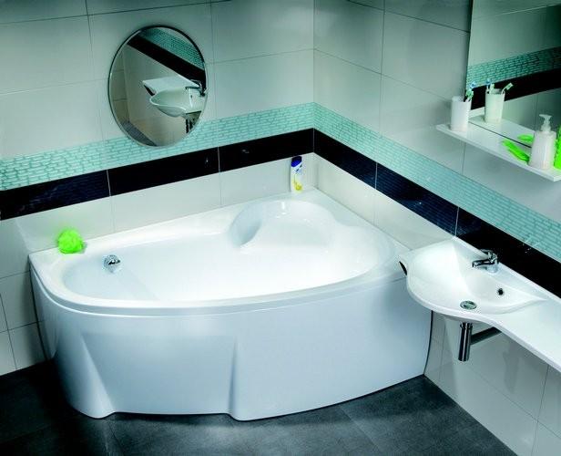 Угловая элитная ванна