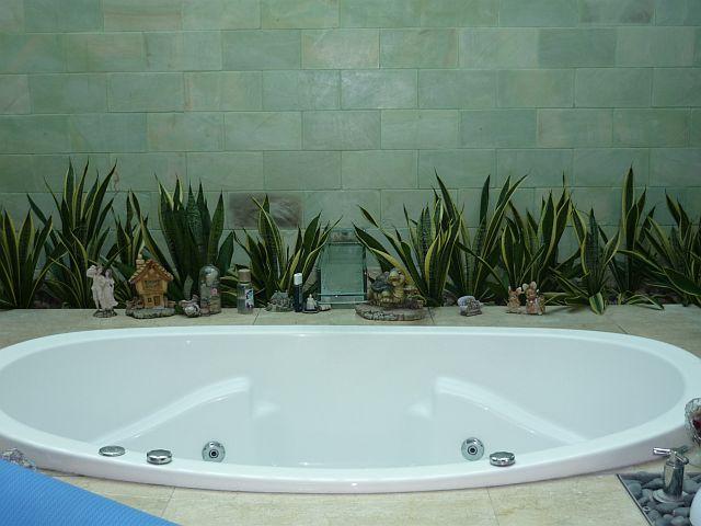 Bathroom plant