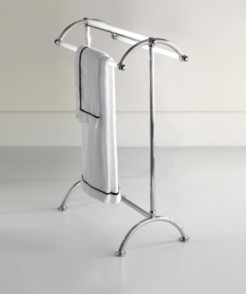 Изогнутая стойка для полотенец
