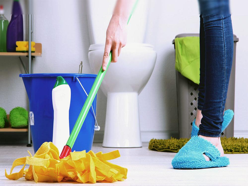 Качественно проведите уборку ванной