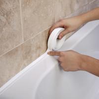 Спосбы устанения протекания воды между стеной и ванной