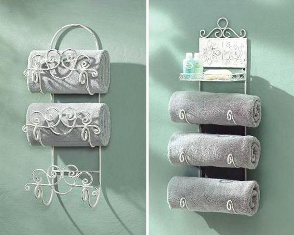 Настенная стойка для полотенец