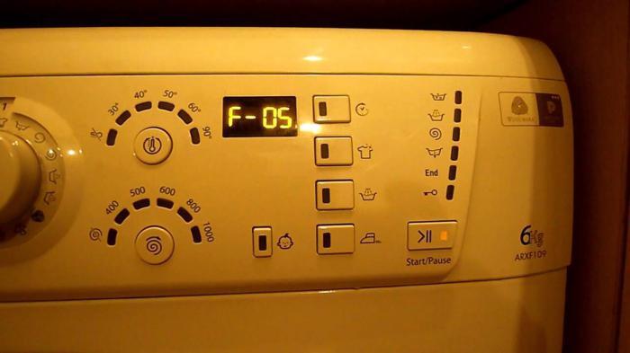 Один из кодов стиральной машинки