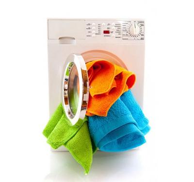 Перегрузка стиральной машинки бельем