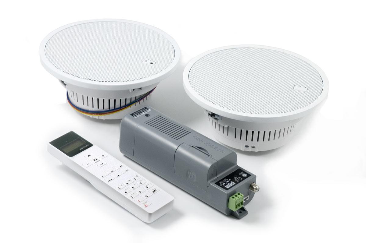 Радио из модулей для ванной