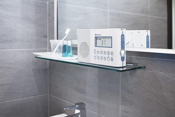Радио, которое можно использовать в ванной