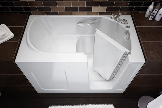 Сидячая стальная ванна