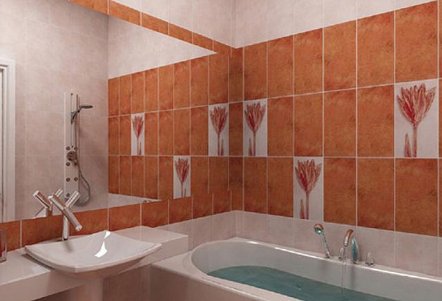 В хрущевке делать все стены ванной одинаковыми не стоит