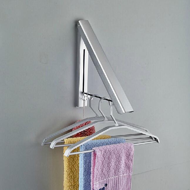 Вешалка из алюминия для полотенец