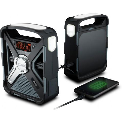 Встроенное черное радио в ванную