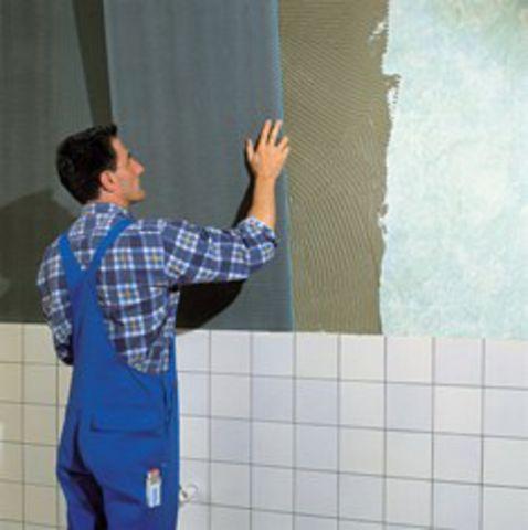 Гипсокартон для выравнивания стен под плитку