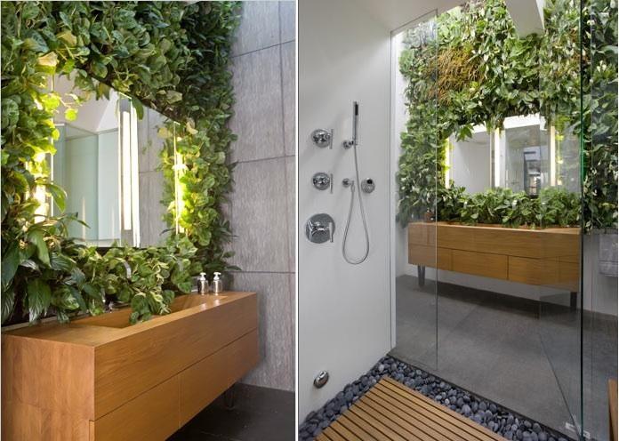 Зеркало с подсветкой для растений