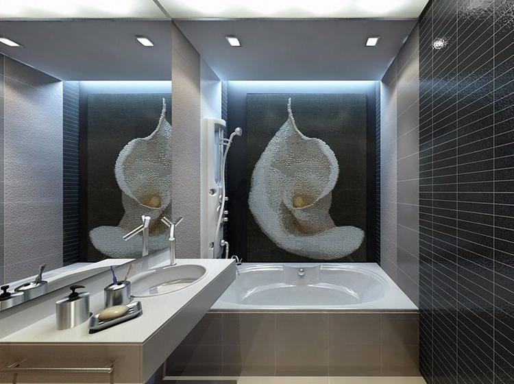 Чтобы визуально увеличить помещение, дизайн ванной комнаты в хрущевке желательно выполнять в светлых тонах
