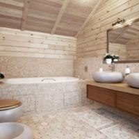 Пол в деревянном доме в ванной, рекомендации по выбору