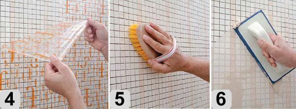 Как укладывать мозаичную плитку
