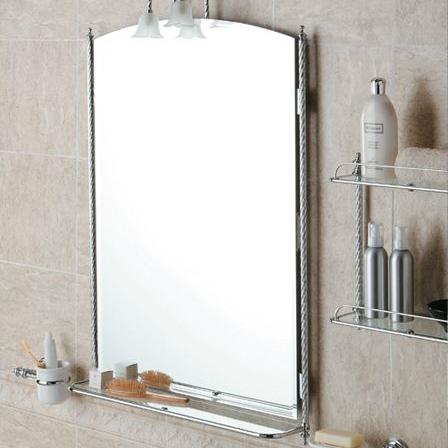 Красивое зеркало в ванную комнату