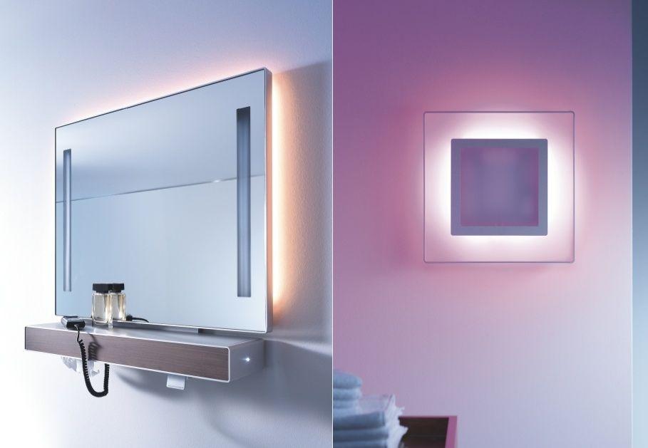Красивые зеркала в ванну с подсветкой