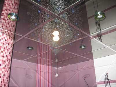 Квадратные зеркальные плиты