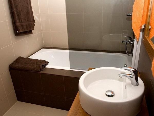 Небольшая ванная комната в хрущевке