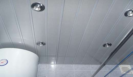 Монтаж пластиковых панелей в ванной