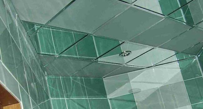 Подвесные зеркальные потолки