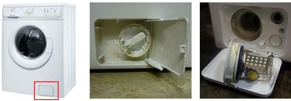 Прочистка фильтра стиральной машинки