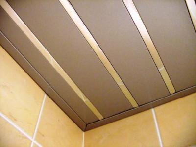 Реечные матовые потолки