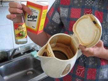 Сода с уксусом для прочистки труб