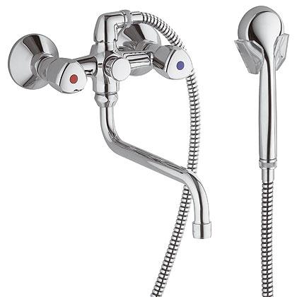 Специальный смеситель ванна душ