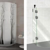 Как выбрать стеклянные душевые перегородки для ванной