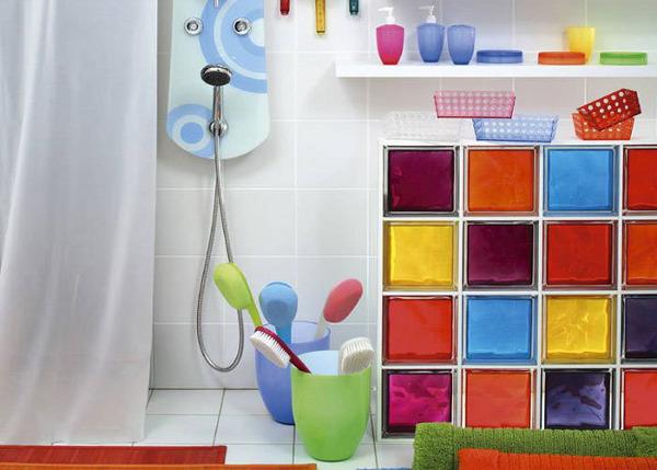 Цветовая палитра стеклоблоков