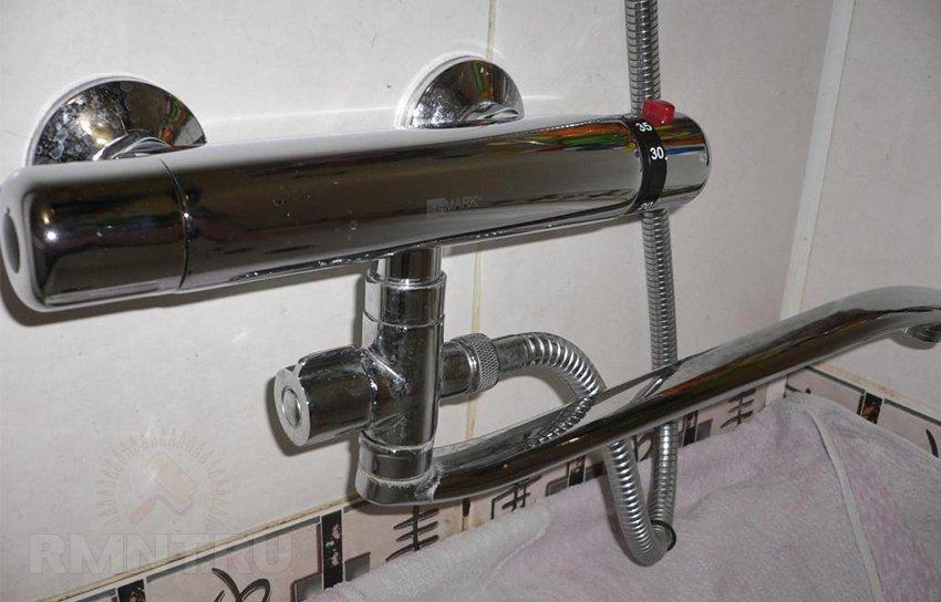 Умная сантехника - смесители для ванной с термостатом