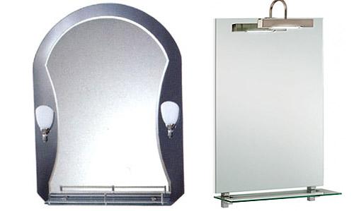 Варианты зеркал с подсветкой