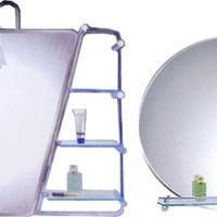 Зеркало для ванной комнаты с полочкой, существующие варианты